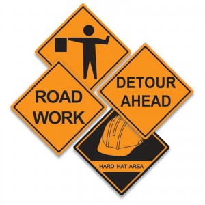 Construction Signs   Engraving & Block Printing Services