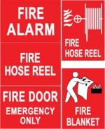 Fire Industry Signs   Engraving & Block Printing Services